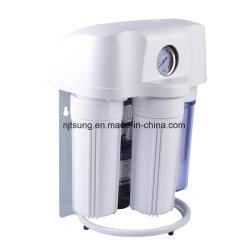 5 étapes du filtre à eau par osmose inverse avec la poussière cas