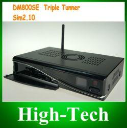 Le récepteur DVB Satallite Set Top Box Triple Tuner DM800se