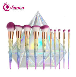 10 STUKS/set Make-up borstels Cosmetic Foundation Tool