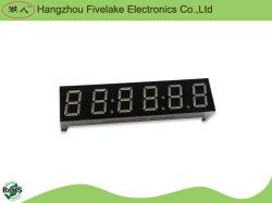0.39 дюйма 6 цифр семь сегментный светодиодный дисплей часов (WD03961-A/B)