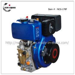 5.5HP piccolo Engin diesel con l'inizio elettrico (NCG-D178F)