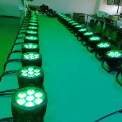 Новейший Rigeba мини-открытый водонепроницаемый 7*10W RGBW 4в1 привело этапе PAR лампа