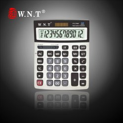 Big Screenの12のディジットDual Solar Power Desktop Finance Calculator