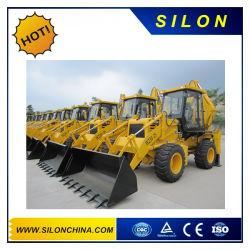 Silon ruedas mini cargadora retroexcavadora marca a buen precio (WZ30-25)
