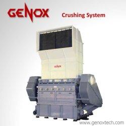 Papierreißwolf-Plastikgummireifen, der Granulierer-Maschine mit Schwungrad Gxc 1600t aufbereitet