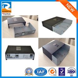 Qingdao-kundenspezifisches weißes Viereck, das Riveting Kommunikations-Geräten-Metallschrank, Blech-Kasten, Metallherstellung sperrt