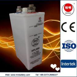 L'industrie Kpl200 à cycle profond rechargeables Ni-CD Pocket Alimentation du feu d'urgence de la batterie de stockage de sauvegarde de la station d'alimentation batterie