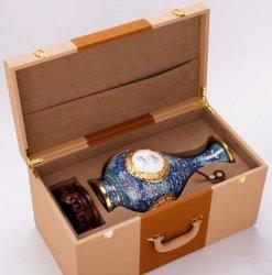 Caja de madera hecha especial del regalo para el florero de la marca de fábrica