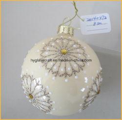 Natale fatto a mano mestieri di vetro per la decorazione di natale