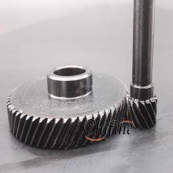 製品伝達螺旋形ギヤを処理する旋盤