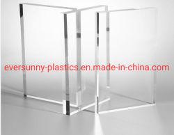 3mm 5mm cristal transparent blanc coloré miroir extrudé en acrylique moulé en Plexiglass PMMA Perspex PVC Forex Sintra PS/kt de papier de la mousse plastique ABS rigide d'administration