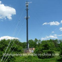 برج إشارة الاتصال 3 الساقين من الصلب