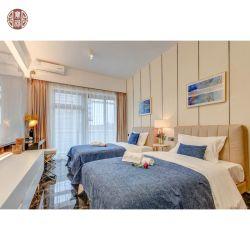 Apartamento comercial muebles de madera Juego de conjunto de Habitación de Hotel