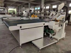 Macchina per cucire industriale automatica del punto Chain della macchina per cucire del nastro del bordo per il materasso