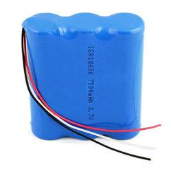 충전식 10.8V 2200mAh 18650 리튬 이온 배터리 팩 3s1p(포함) 조명용으로 BIS KC CE RoHS 승인