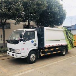 De Euro III 8 Cbm van Dongfeng 4X2 Compressor van het Huisvuil van de Vrachtwagen van de Pers van het Afval