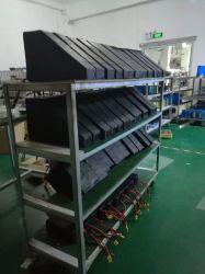 Nieuwe 52V 17,5 Ah 50 A BMS Triangle-batterij Lithium Ion E-Bike Batterij Hoge ontladingsstroom batterij op de accu voor eBike door 14s7p