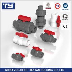 Пластмассовые (CPVC UPVC/PVC/ /PPR) трубный фитинг и шаровой клапан с аудиосистемой PN10 /Pn16/ со стандартом ASTM