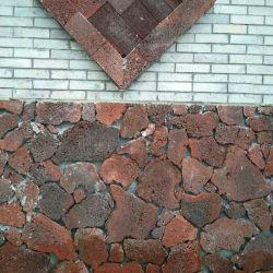 De natuurlijke Ruwe Vulkanische Straatsteen van het Puim van de Flagstone Onregelmatige