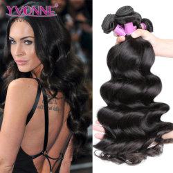 Yvonne 100 ٪ من الشعر البرازيلي الشعر الخام تمديدات الشعر موجة مرتخية