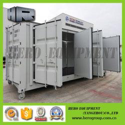 호화스러운 팽창할 수 있는 강철 모듈 조립식 가옥 또는 조립식으로 만들어진 이동할 수 있거나 움직일 수 있는 휴대용 콘테이너 집