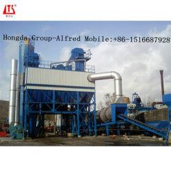 Impianto di miscelazione d'ammucchiamento caldo dell'asfalto della cancelleria 120t/H per la costruzione di strade
