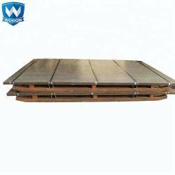 Piatto d'acciaio ricoperto bicromato di potassio resistente di usura bimetallica della lega dell'abrasione