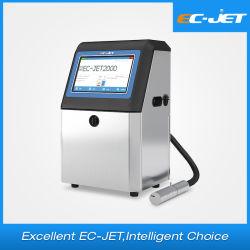 Печать штрих-кодов Машина непрерывной промышленности струйный принтер для пластиковой бутылки (EC-JET2000)