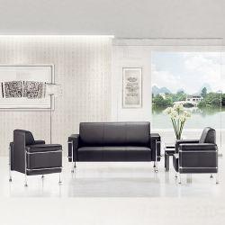 كلاسيكيّة تصميم حديثة قطاعيّ [أفّيس فورنيتثر] وقت فراغ ليّنة جلد أريكة