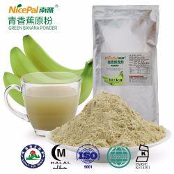 Alimentação Direta de fábrica fresca de frutos secos em pó desnatado em pó de banana verde