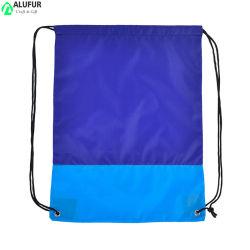 Eco freundlicher Textildrawstring-Beutel-Two-Tone Gurt-Beutel für verpackenspeicherung