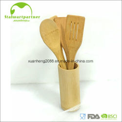 Кухонные принадлежности специализированные большой суп деревянной ложкой из бамбука