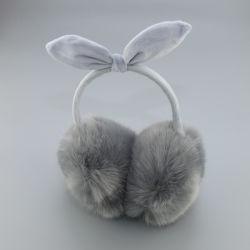 Senhoras Raparigas Fashion Bonitinha Tricotadas Faux Fur Sherpa Plush protectores para ouvidos mais quentes da orelha de Inverno