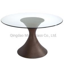 ビッグプロモーション高品質の高級ラウンドトップガラスのコーヒーテーブル