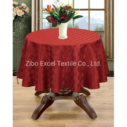 Commerce de gros 100 % de tissu de coton Chiffon de table