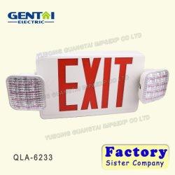 LED Exit&の白熱非常灯277V LEDの非常口の印