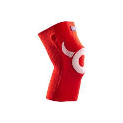 Два цвета трикотажные High-Elastic OEM Поддержка колена сжатия
