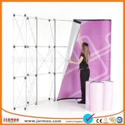 Рекламные прямо из алюминия во всплывающем окне отображается на стене