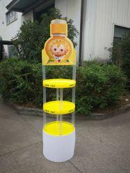 ثقيلة - واجب رسم بالتفصيل ترويجيّ عرض شراب يعلن حامل قفص [ديسبلي رك] بلاستيكيّة