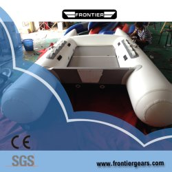 Barca gonfiabile del pedale utilizzata pavimento di alluminio delle 6 genti