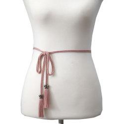 De sexy Riem van de Taille van de Katoenen Leeswijzer van het Koord van de Polyester en met Rand en Leeswijzer voor Manier Dame Belt