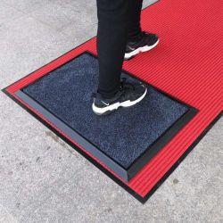 Venta caliente zapatos botas resistentes los pies de desinfección la desinfección de la bandeja Doormats alfombrillas de goma para higienizador utilizando