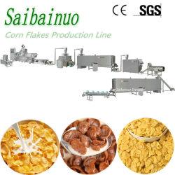 Flocos de milho Cereais de pequeno a linha de processamento de fabricação da máquina
