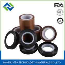 ورقة لاصقة PTFE مصنوعة من الزجاج الليبيري مقاومة للحرارة 250 ميكا