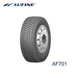 Pneu pour camion lourds Aufine 385/65R22.5 avec la profondeur de sculpture plus profonde et plus lourd Poids des pneus