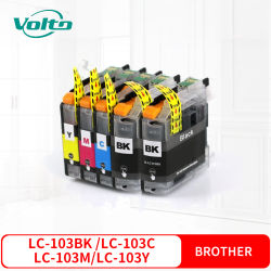 Compatível Brother LC103 Cartucho de tinta colorida para MFC-J4310DW J4410DW J4510DW J4610DW J4710DW J6520DW