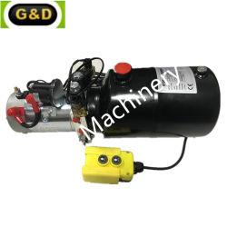 12V 24V 48V 96V Fuente de Energía Hidráulica de doble efecto de la unidad de potencia hidráulica con motor de CC