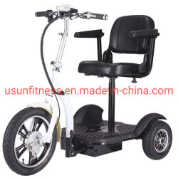 3 Rad elektrisches Trike Fahrzeug-elektrische Mobilitäts-Roller Foldable Mobility Scooter for Easy Fahrt