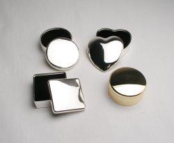 円形の正方形のPromation Gift中心の装身具ボックス女性宝石箱