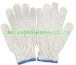 Natürliche Baumwolle gestrickte elektrische Sicherheits-Handhandschuhe für Arbeitskräfte